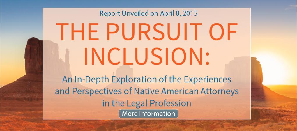 Pursuit of Inclusion